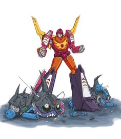 Contempt for the Court by ~Kolyarut86 on deviantART (Hot Rod vs. Sharkticons)