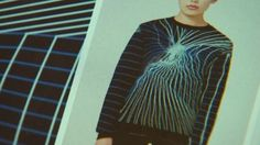 London-based design studio KNYTTAN has developed a system to let shoppers design their own unique woollen sweaters and scarves.