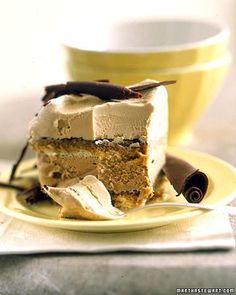 Tiramisu Ice Cream Cake Recipe