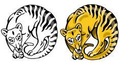 My Thylacine Tattoo by WatergazerWolf.deviantart.com on @deviantART