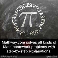 Mathway.com solves all kinds of Math homework problems with step-by-step explanations.