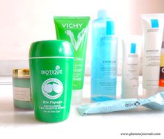 Skin Care Routine for oily, combination, sensitive, acne-prone, allergic-to-parabens skin