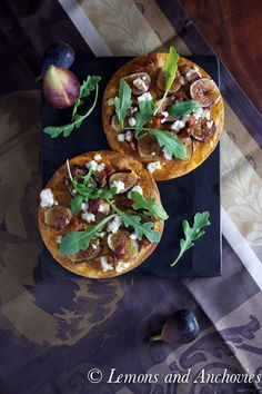 Tortilla Pizza with Figs, Feta, Bacon and Arugula-3