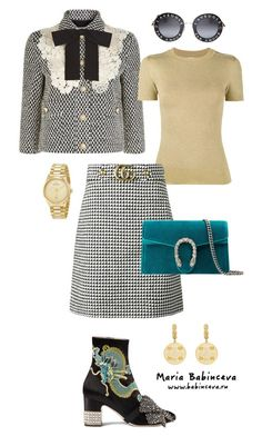 """Без названия #796"" by mariaalex-stylist ❤ liked on Polyvore featuring Gucci and JoosTricot"