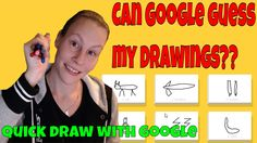 CAN GOOGLE GUESS MY DRAWINGS?? | Quick draw with Google
