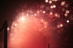Pantone color for 2015, Marsala - Fireworks on the 4th of July