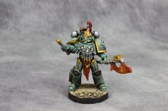 Sons of Horus consul - delegatus celsork Sons Of Horus, Warhammer 30k, Warhammer 40k Miniatures, Space Marine, Military Art, Cool Stuff, Marines, Fantasy, Wolves