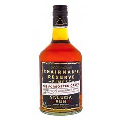 Chairman's Reserve The Forgotten Casks Estuchado Santa Lucia, Ron, Cellar, Sauce Bottle, Whiskey Bottle, Nostalgia, Alcohol, Drinks, Wine Pairings