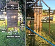 Back Yard Ninja Warrior Course | Build an Obstacle Rig for ANW Training