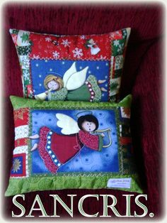 almofadas natalinas de sandra gonzales sf-gonzales@hotmail.com