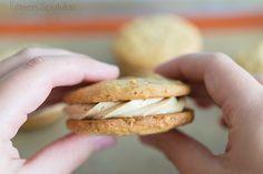 Peanut Butter Sandwich Cookies » Fifteen Spatulas