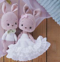 Easter Crochet Patterns, Crochet Bunny Pattern, Crocheting Patterns, Plush Pattern, Amigurumi Patterns, Baby Blanket Crochet, Crochet Yarn, Crochet Wedding, Amigurumi Toys