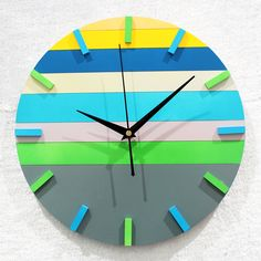 Free shipping Stylish Simple DIY 3D Wall Clock DIY clock Funny Clock on AliExpress.com. $23.54
