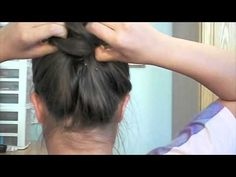 Back to Ballet - Perfect bun using only elastics and bobby pins, no hairnets