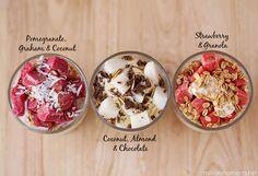 Easy frozen fruit parfait recipes #Outshine
