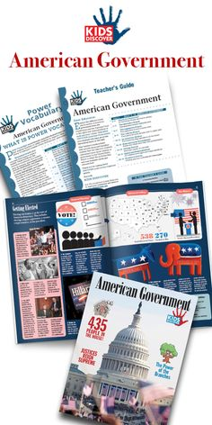 For kids studying American government, Kids Discover American Government offers a compelling narrative about how our government functions, and free teaching resources including a Power Vocabulary Packet and Teacher Guide. | Kids Discover