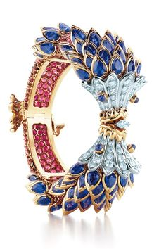 Tiffany & Co. Schlumberger® Fish Bracelet with sapphires, red spinels and diamonds. Oh, Santa . . . one can dream!