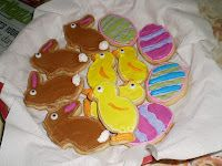 It's not quite Easter yet, but hopefully these cookies will get you in the mood for both Spring and Easter!!!