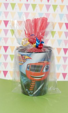 BLAZE and the MONSTER MACHINES Goodie Bags Party Favor Ideas for Kids.