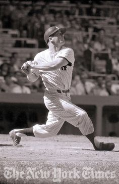 Mickey Mantle Swings for the Fences - 1957