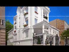 Thiết kế biệt thự phố 3 tầng cổ điển ngất ngây, mê hồn ~ Thiết kế kiến trúc đẹp ACI HOME