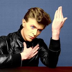 David Bowie from his Berlin Trilogy. I love his music so much. I was absolutely torn up when I heard of his death.