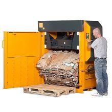 Bramidan X25 Baler #recycling #lowprofilebaler #halfmillsizebaler #cardboardbaler #reducereuserecycle