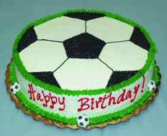 64 ideas birthday cake boys soccer party ideas for 2019 Happy Birthday Football, Football Birthday Cake, Birthday Cake For Him, Soccer Birthday Parties, Soccer Party, Sports Birthday, Birthday Ideas, Soccer Ball Cake, Soccer Cakes