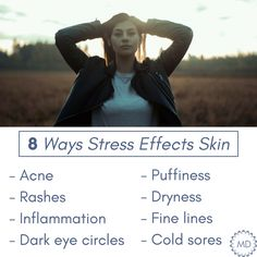 Let's face it...Monday's can be stressful.  If you're waking up with puffy eyes, a dull complexion, or breakouts, stress may be contirbuting factor.
