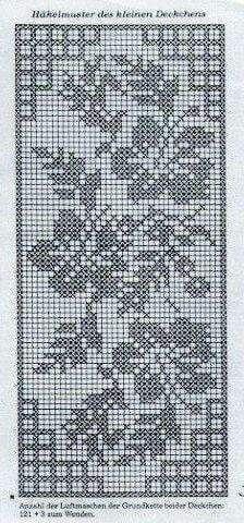 Filet Crochet Afghan Patterns Hundreds Filet Crochet Charts, Crochet Cross, Crochet Diagram, Crochet Art, Crochet Stitches Patterns, Thread Crochet, Crochet Motif, Crochet Designs, Stitch Patterns