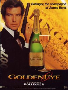 Bollinger, the Champagne of James Bond