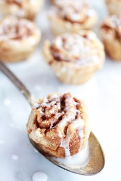 Mini Whole Wheat Cinnamon Buns