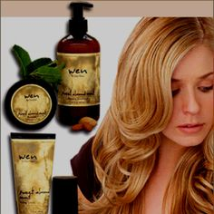 Wen Hair Care- will never use anything else! Miracle in a bottle