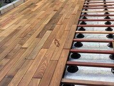 Lames de terrasse en bois exotique Ipé - petites longueurs - Tekabois