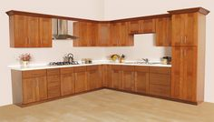#paintedkitchen oak kitchen