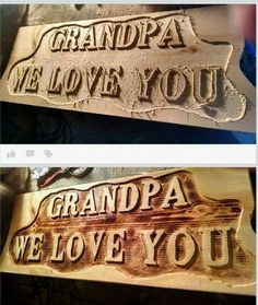 Check out this item in my Etsy shop https://www.etsy.com/listing/246707395/grandparents-signs-from-grandchildren