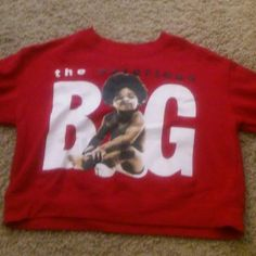 Biggie smalls cropped sweater Never worn biggie smalls cropped sweater! Make me an offer  Fast Shipper! Accepts Reasonable Offers! Will bundle items! No Trades Sweaters Crew & Scoop Necks