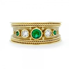 Emerald and Diamond Band 211-10276