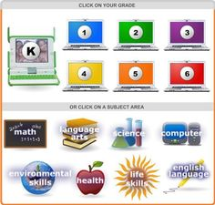 e-Learning For Kidsis a great site with some wonderful interactive learning games that are engaging and fun. Students click on their grade and then a list of games divided into subjects comes up.