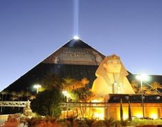 The Luxor hotel, Las Vegas. The nuttsiest place I& ever stayed - I& never been to Egypt, but I have slept in a pyramid. Hotel Luxor Las Vegas, Las Vegas Hotels, Las Vegas Vacation, Need A Vacation, Vacation Ideas, Las Vegas Buffet Coupons, Nevada Usa, Travel Inspiration, Places To Go