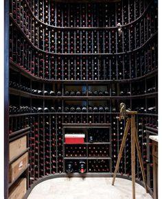 The wine cellar. #home #decor