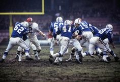 Tom Matte #41  (1968 NFL Championship Game)