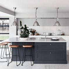 Open Plan Kitchen Living Room, Kitchen Dining Living, Home Decor Kitchen, Home Kitchens, Kitchen Ideas, Remodeled Kitchens, Rustic Kitchen, Open Kitchen, Diy Kitchen
