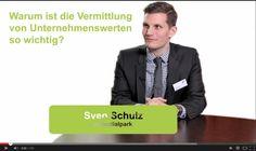 Warum die Vermittlung von Unternehmenswerten so wichtig geworden ist. Interview mit Sven Schulz von Potentialpark in der Reihe CYQUEST Talks