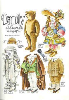 Bears paper dolls 58 http://kidsprintablescoloringpages.com