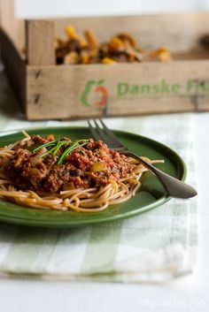 Funnel Chanterelle Soy Bolognese - Chocochili