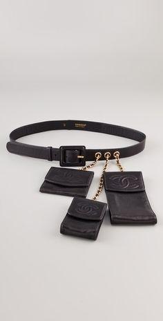 WGACA Vintage Vintage Chanel Belt with Accessories - StyleSays New Travel,  Vintage Chanel, High f5b289ae1a1