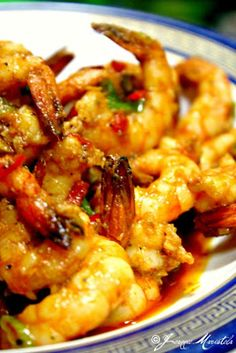 Stir-Fried Sriracha Shrimps
