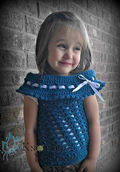 Ravelry: Victorian Sweater Vest pattern by Amber Schaaf