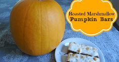 Roasted Marshmallow Pumpkin Bars recipe under 200 calories per serving.